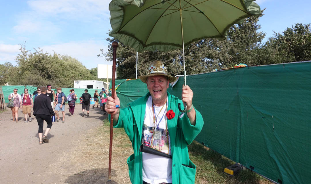Glastonbury with a 3 year old? – A very different festival experience!