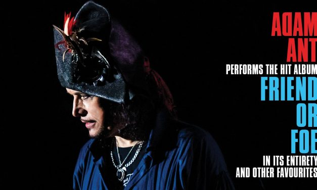 Adam Ant announces 'Friend or Foe' UK Tour 2019